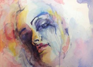 A Painting by art student Rebecca
