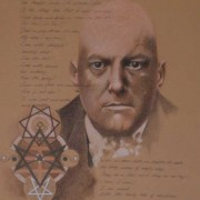 A Portrait in Pastels of The Beast 666 Aleister Crowley