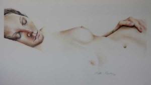 Life Drawing  by Hettie Rowley