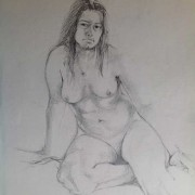 Life Drawing Claire