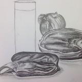 Drawing by Margaret Roeterdink