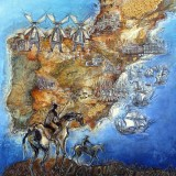 Don Quixote by Val Shaw
