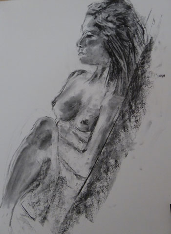 Life-Drawing by Lindy