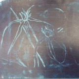 Negative created by monoprint