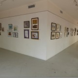 Front and side wall of the gallery