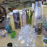 Inspiration for drawing transparency/reflections/objects within glass containers