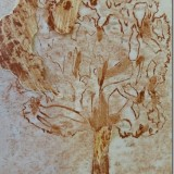 Monoprint by Lynley Liepens