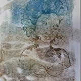 Monoprint  by Vicki